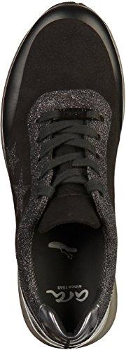 Ara Dames Osaka Sneaker Zwart (zwart, Fucile 05)