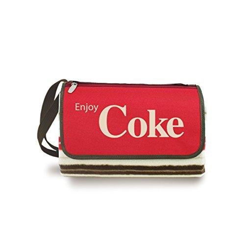Picnic Time Coca Cola Blanket Stripe