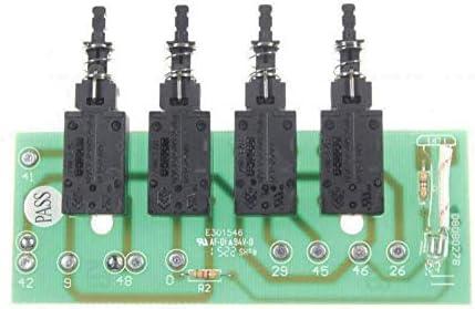 Teclado de 4 teclas para campana extractora de diferentes marcas: Amazon.es: Grandes electrodomésticos