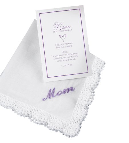 Price comparison product image Hortense B. Hewitt Wedding Accessories Mother of the Bride Hanky