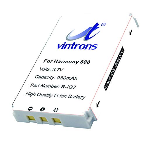 VINTRONS, R-IG7, F12440023 Battery for Logitech Harmony One,