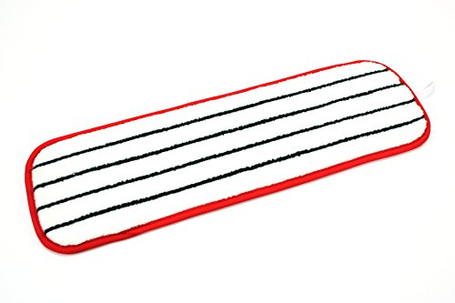 3M Easy Scrub Flat Mop, Red, 18 in, 10/bag (Pack of 10) by 3M