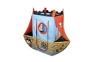 Knorr 55701 - Tienda de campaña infantil con diseño de barco pirata
