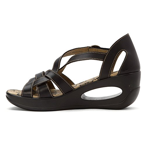 Red Hauk Black Fly London Sandals 5CxwwqtUR