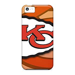 Fashion Protective Kansas City Chiefs Cases Covers For Iphone 5c