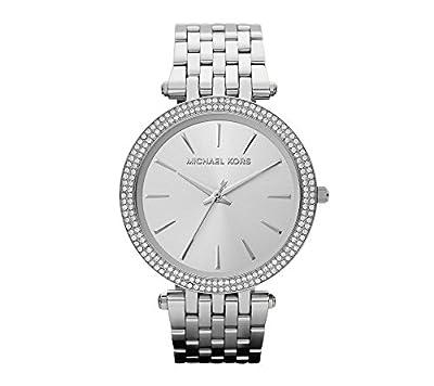Michael Kors Silvertone Darci Watch by Michael Kors