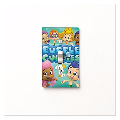 Bubble Guppies Light Switch Cover -