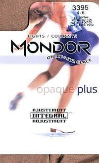 Tights Footed Mondor - Mondor 3395 Footed Figure Skating Tights (Girls)
