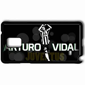 Personalized Samsung Note 4 Cell phone Case/Cover Skin Arturo vidal Black