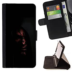 KingStore / Leather Etui en cuir / Sony Xperia Z3 D6603 / Darth Mutilar
