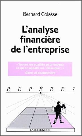 En ligne L'analyse financière de l'entreprise pdf