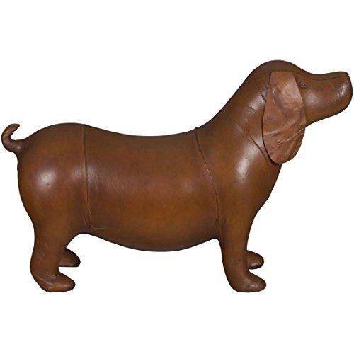Dog Footstool - Dog Leather Footstool