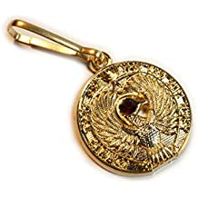 Raiders of the Lost Ark Staff of Ra Medallion Charm Zipper Pull Clip