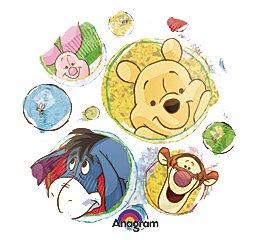 (45cm Winnie The Pooh Balloon)