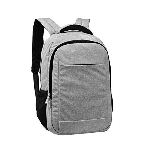 Casual Travel Bag Laptop Bag Men And Women Shoulder Bag Waterproof Outdoor Single Wild Gray
