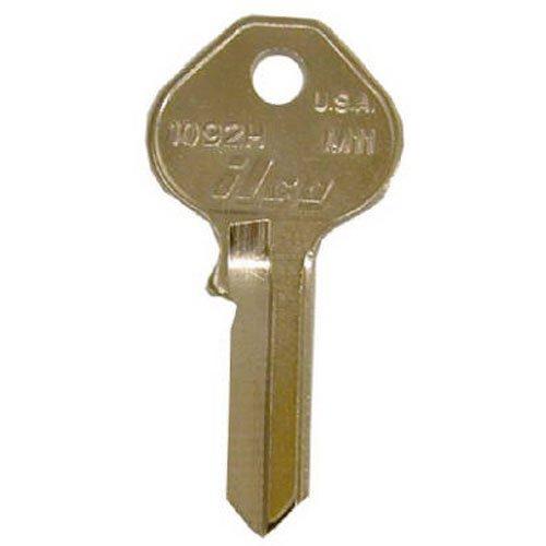 KABA ILCO M10-1092N Ilco, Key Blank for Master Padlock Key Blank Equivalent of K15