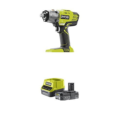 ryobi r18iw3 0 18v one cordless 3 speed impact wrench. Black Bedroom Furniture Sets. Home Design Ideas