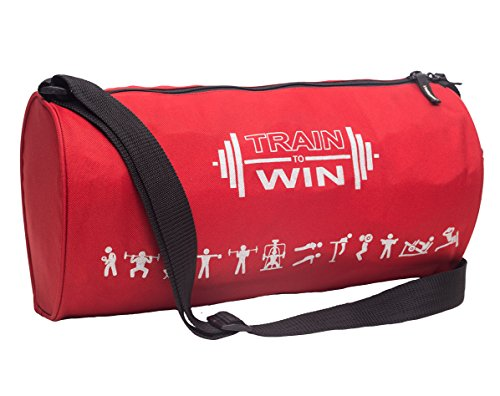 Cosmus Fitwell 23Litres Red Gym Bag