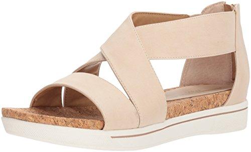 Bone Smooth Footwear - ADRIENNE VITTADINI Footwear Women's Claud Sandal, Bone-Small, 9 Medium US