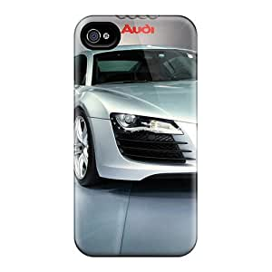 Defender Case With Nice Appearance (audi R8 5) For Iphone 4/4s