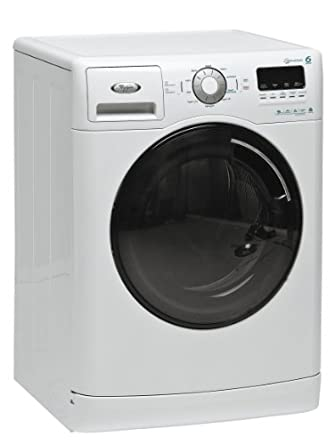whirlpool aquasteam 9770b 1400rpm 6th sense washing machine 9 kg large appliances. Black Bedroom Furniture Sets. Home Design Ideas