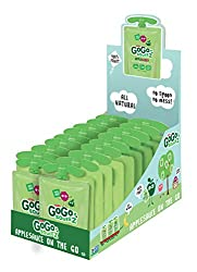 Gogo Squeez Applesauce Go, Apple Berry, 3.2-ounce Portable Bpa-free Pouches, 18 Pouches
