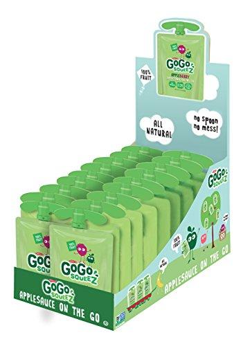 GoGo squeeZ Applesauce, Apple Berry, 18 Pouches