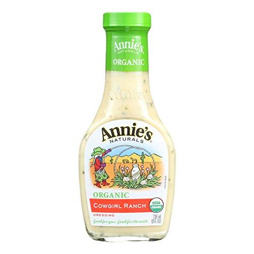 Annie's Naturals Organic Dressing Cowgirl Ranch - Case of 6-8 fl oz. -