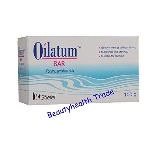 Oilatum Bar Soap for Sensitive Soap Skin 100 G X3 Pack(Beautyhealth Trade)