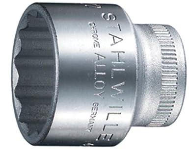 SW 10 mm 01030010 Stahlwille 40D Steckschlüsseleinsätze 1/4 Zoll