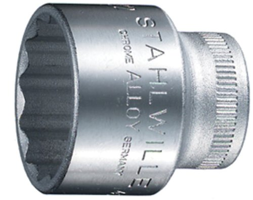 Stahlwille 45 Steckschlü sseleinsä tze 3/8 Zoll, SW 15 mm, 02010015 45-15