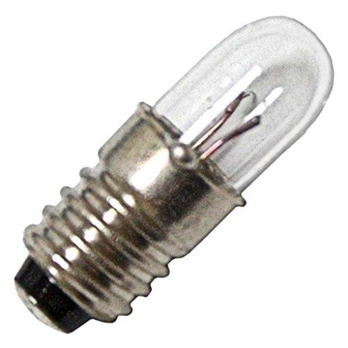 Eiko 1769 2.5V .2A T1-3/4 Midget Screw Base Halogen Bulbs ()