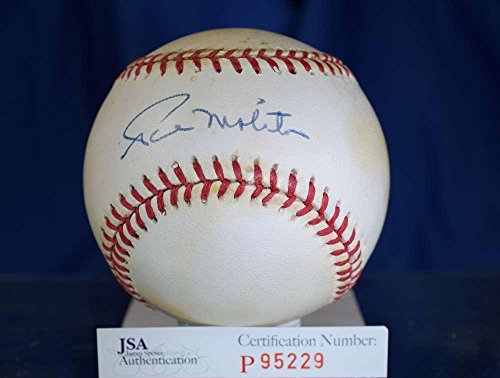 Paul Molitor Autographed Baseball - Signed Paul Molitor Ball - American League Authentic - JSA Certified - Autographed Baseballs