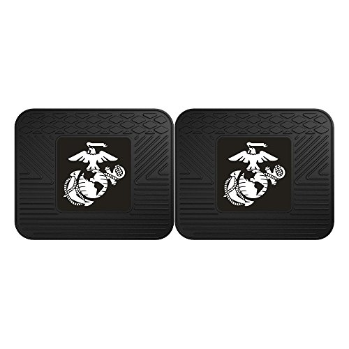 Fanmats Military  'Marines' Utility Mat - 2 Piece