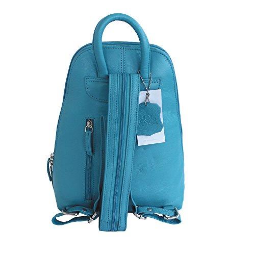 Jenes & Jandura - Bolso mochila  para mujer azul azul marino azul