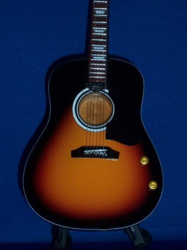 Mini Guitar BEATLES JOHN LENNON Acoustic Sunburst ()