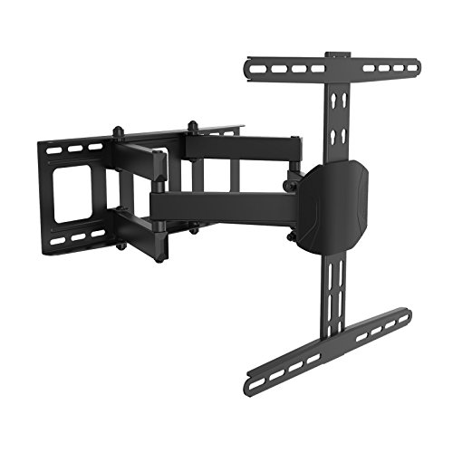 FLEXIMOUNTS A18 Tilt TV Wall Mount for 26-55 inch Samsung/LG/VIZIO/TCL/Haier/Seiki/Sharp/Toshiba/TCL/Haier/Hisense LED Plasma LCD flat screen with Pivot/Swivel and Tilt