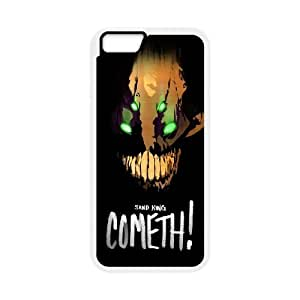 iPhone 6 Plus 5.5 Inch Cell Phone Case White Defense Of The Ancients Dota 2 SAND KING 004 LQ7448774