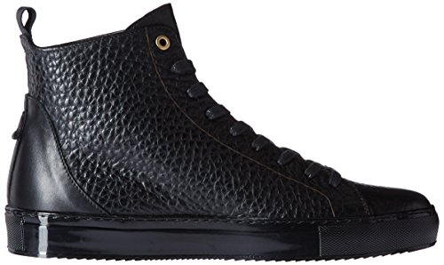 Kenneth Cole New York Hombres Elite Circle Fashion Sneaker Negro