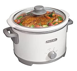 Proctor-Silex 33042 4-Quart Slow Cooker : Quite happy with this slow cooker