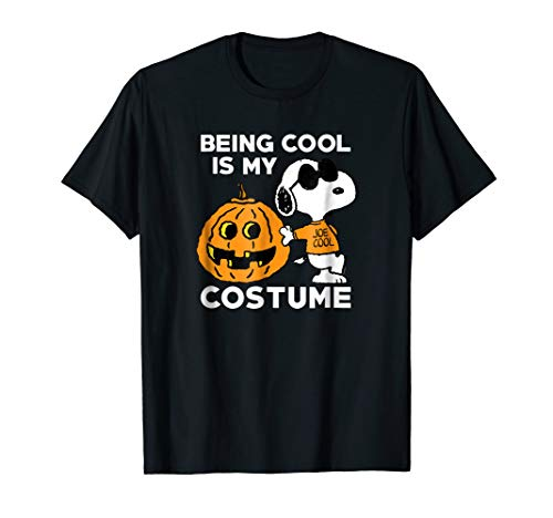 Peanuts Snoopy Cool Halloween Costume T-Shirt -