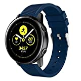 Silicone Band for Samsung Galaxy Watch Active Replacement Band Sport Soft Watch Strap for Samsung Galaxy Watch Active 20mm
