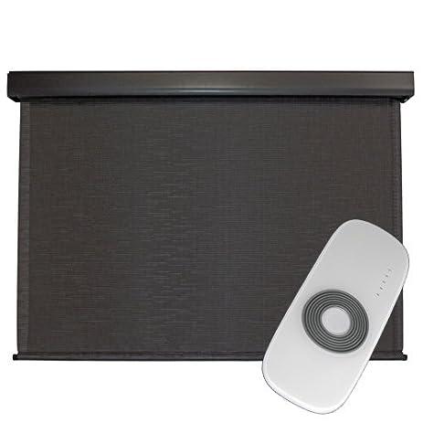 Amazon.com : Premium Outdoor Sun Shade, Motorized-Remote, 6-Feet ...