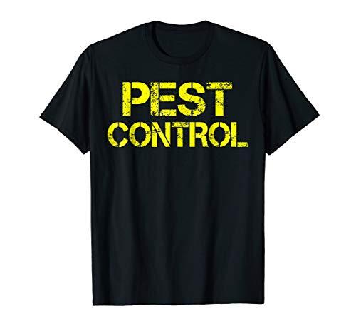 Pest Control Exterminator Halloween Costume T-Shirt -