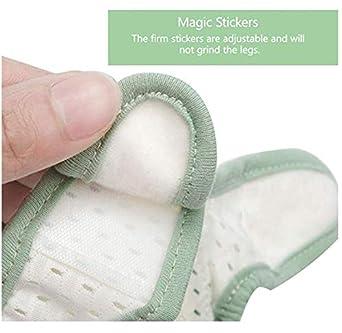 Baby Crawling Anti Slip Knee Pads,Adjustable Kneepads Unisex Baby Toddlers Kneepads Leg Safety 2 Pairs