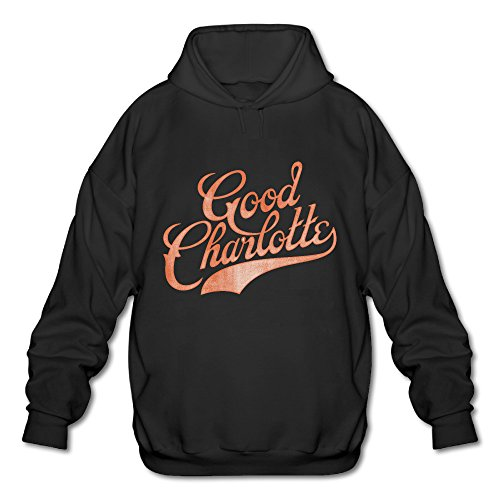 Wesley Good Charlotte Men's Sport Hooded Sweatshirt Black S