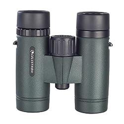Celestron 71402 Trailseeker 10x32 Binoculars (Army Green)