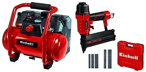 Rot Einhell 4020450 TE-AC 36//6//8 Li OF Set-Solo Akku-Kompressor Schwarz