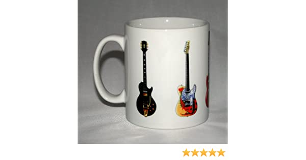 Taza de guitarra de Jimmy Page. 5 Guitarras famosas. Gibson ...