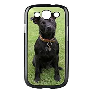 Custom Patterdale Terrier Dog Hard Case Clip on Back Cover for Samsung S3 9300